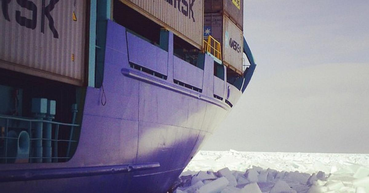 Maersk Considers Sending Container Ship Through Arctic But