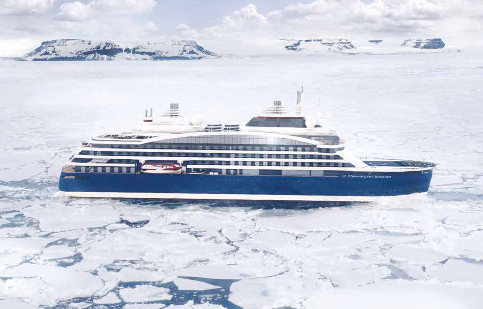 French Cruise Ship Set To Travel To North Pole In 2021