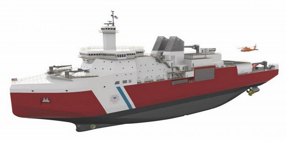 U S  Coast Guard Awards Contract for New Polar Class Icebreaker