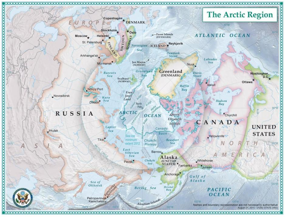 China, Russia and Security Strategies in the Arctic on