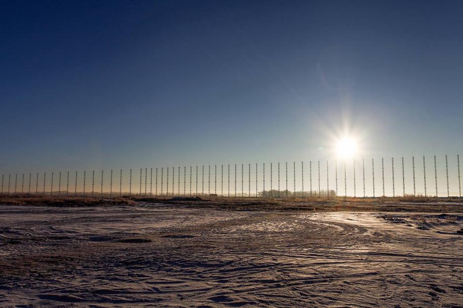 O radar no horizonte do contêiner perto de Kovylkino. (Fonte: Ministério da Defesa da Federação Russa)