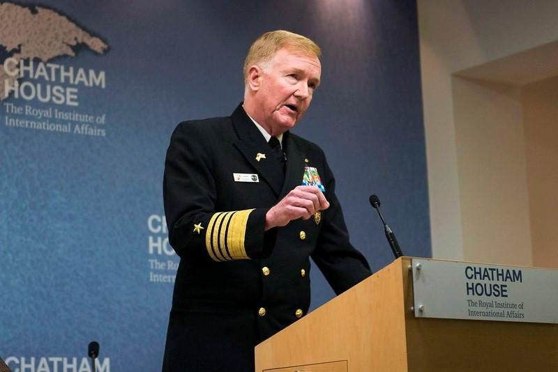 Adm. James G. Foggo III, commander, U.S. Naval Forces Europe-Africa