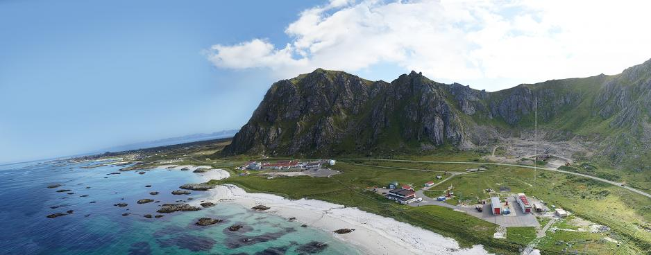 Andøya space center.