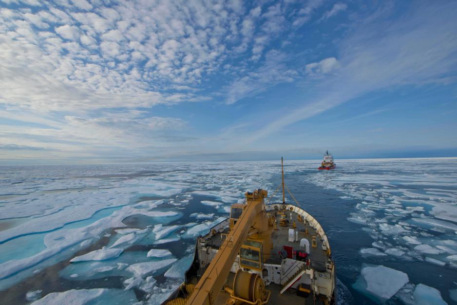 Shipping Traffic in Canadian Arctic Nearly Triples